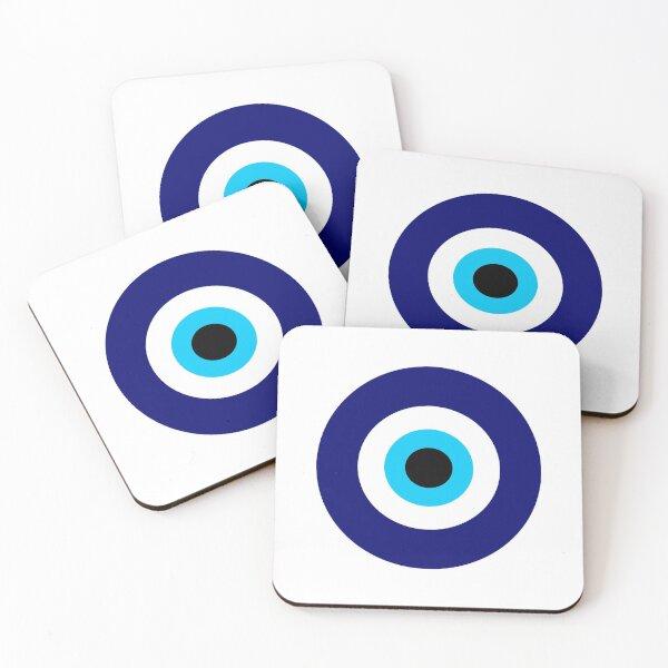 Magic eye five set | Evil eye Coasters (Set of 4)