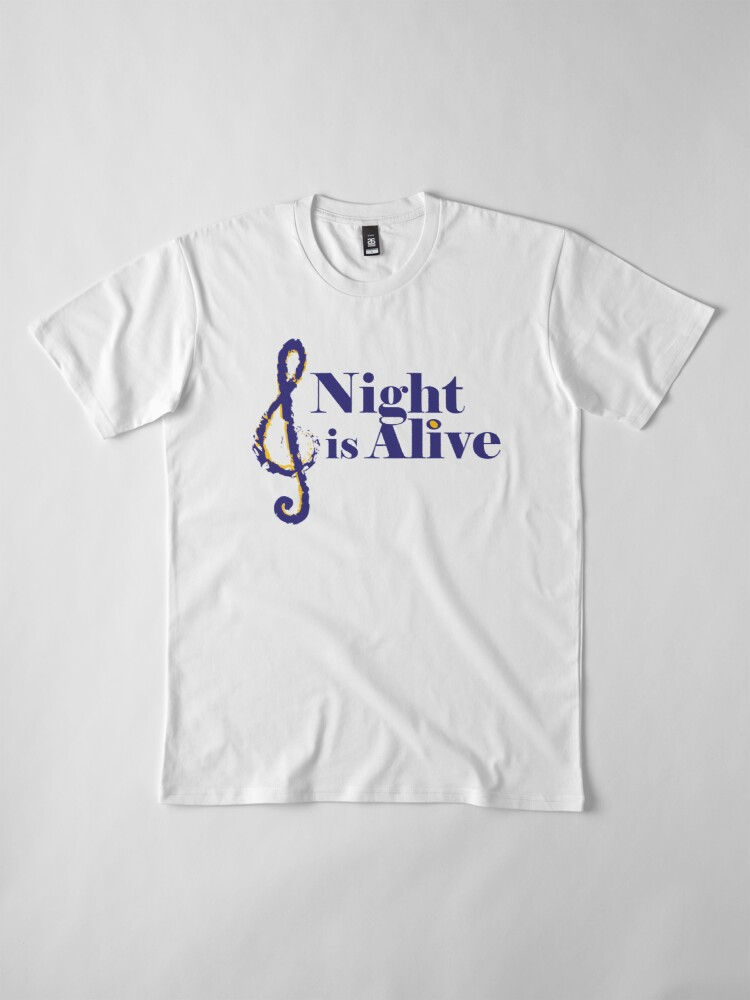 Alternate view of Night is Alive Premium T-Shirt
