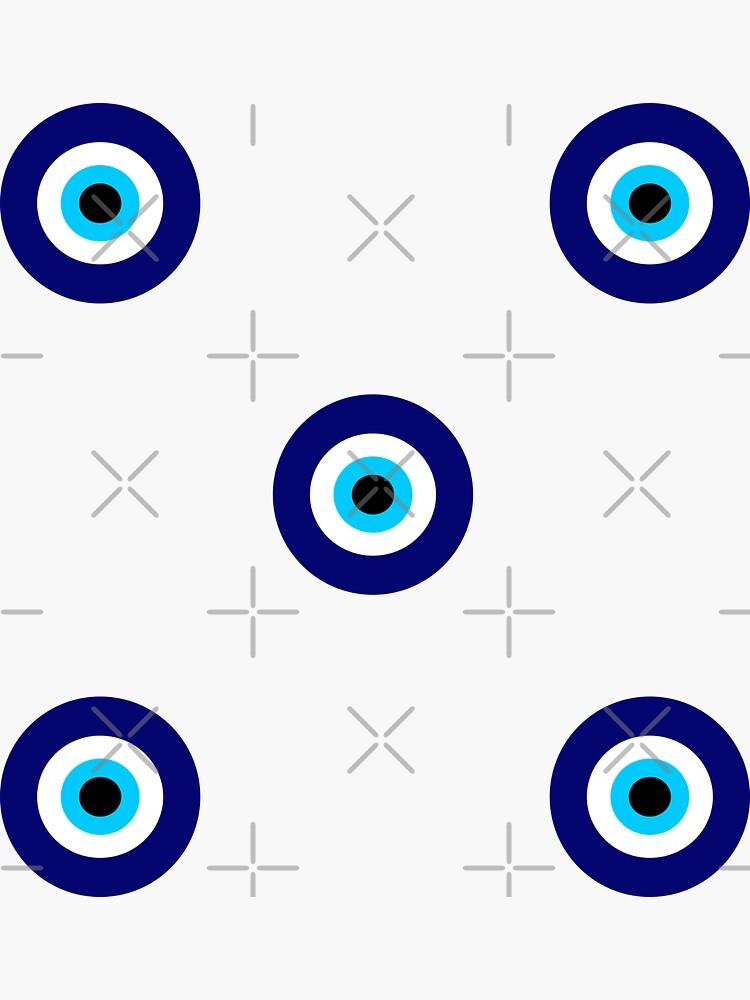 Magic eye five set   Evil eye by trajeado14