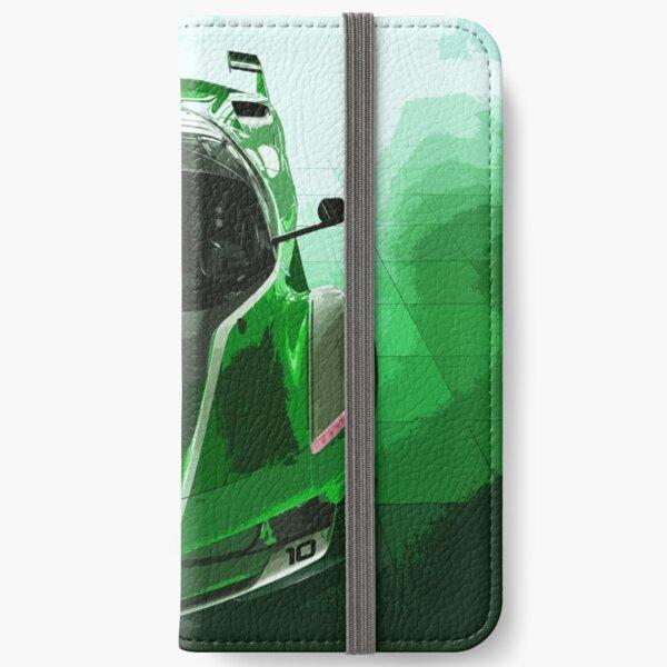 Green Ferrari FXX K iPhone Wallet