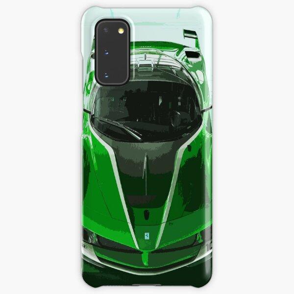 Green Ferrari FXX K Samsung Galaxy Snap Case