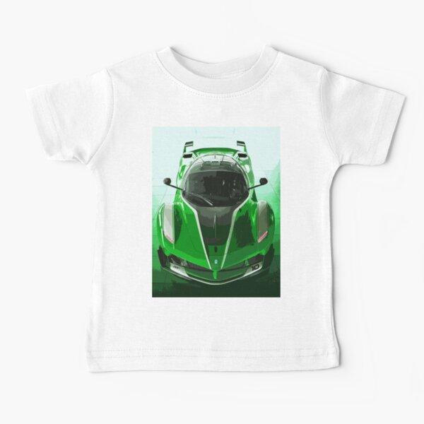 Green Ferrari FXX K Baby T-Shirt