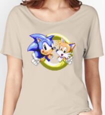 Sonic the Hedgehog - SEGA Genesis Sprite Women's Relaxed Fit T-Shirt