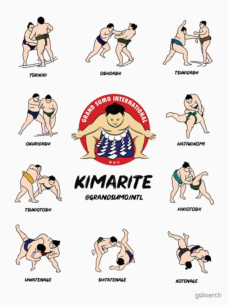 Kimarite Winning Sumo Techniques by gsimerch