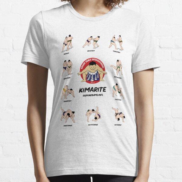 Kimarite Winning Sumo Techniques Essential T-Shirt