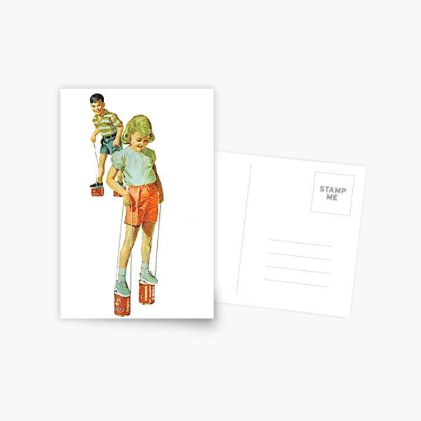 The Simple Life : Tin Can Stilts Postcard