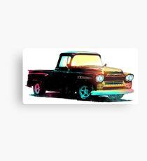 1959 Chevy Apache Truck - Vintage Style Metal Print