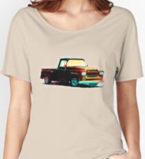1959 Chevy Apache Truck - Vintage Style Women's Relaxed Fit T-Shirt