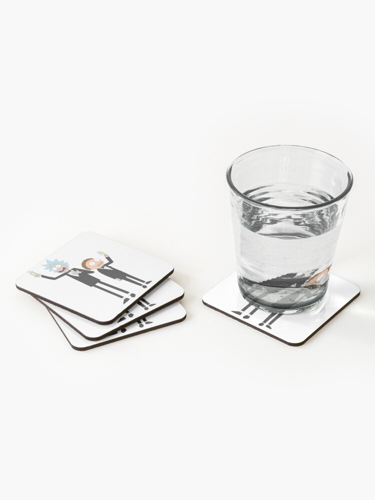 Alternate view of Formal Rick and Morty™ Coasters (Set of 4)