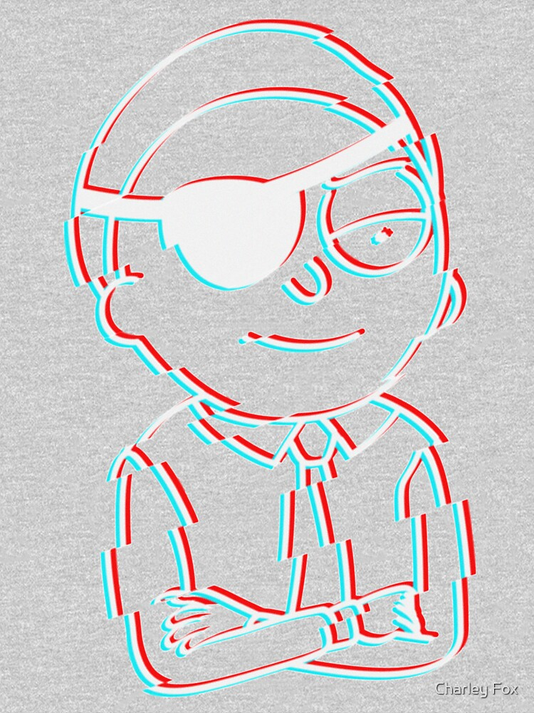 Evil Morty Glitched by CharleyFox
