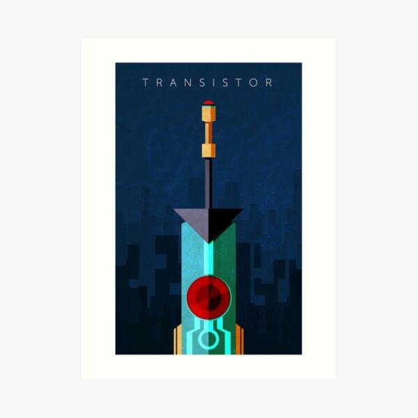 Transistor Art Print