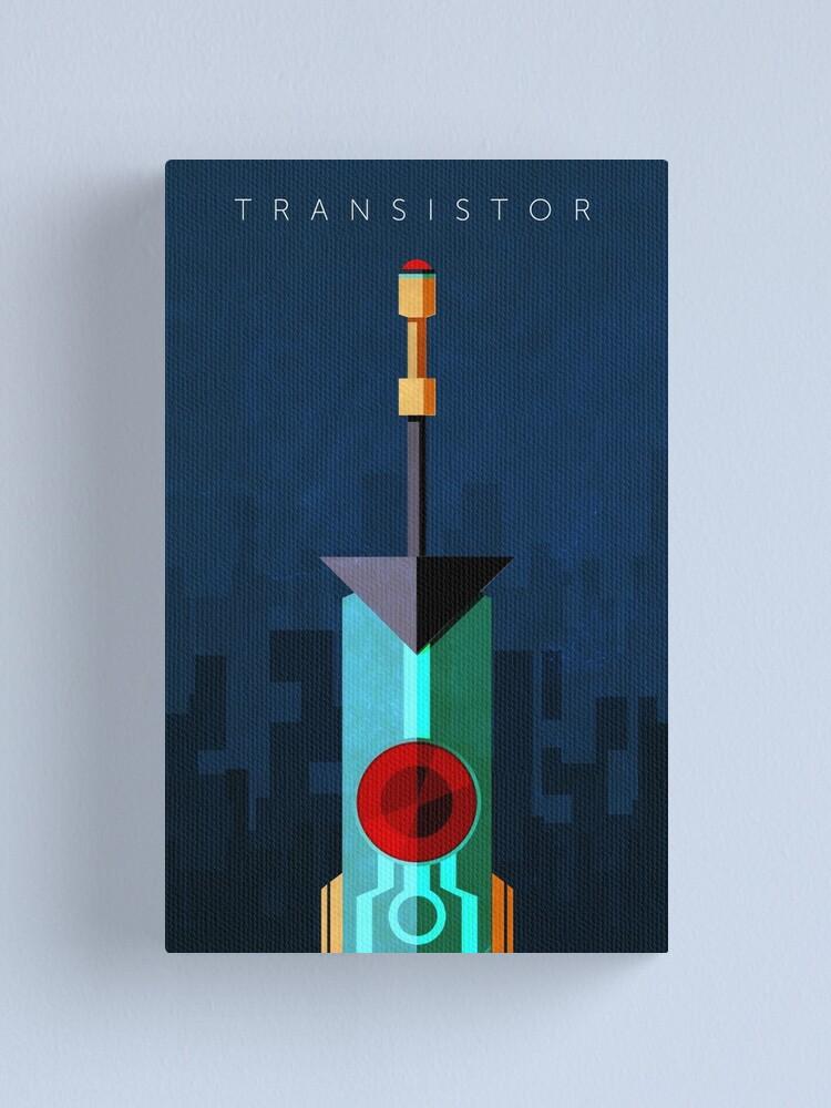 Alternate view of Transistor Canvas Print