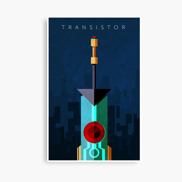 Transistor Canvas Print