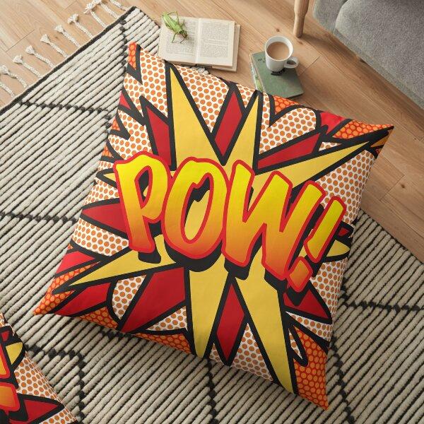 POW Comic Book Pop Art Trendy Fun Floor Pillow
