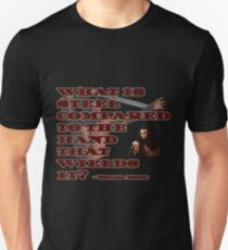 Thulsa Doom and The Riddle of Steel Unisex T-Shirt