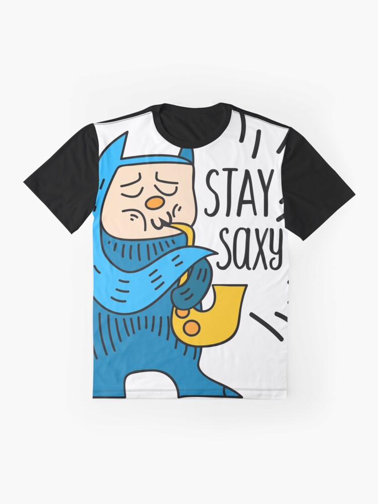 Alternate view of Stay Saxy Graphic T-Shirt