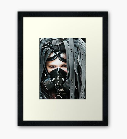 The Goth Weekend at Whitby, Oct 2010. 11 Framed Print