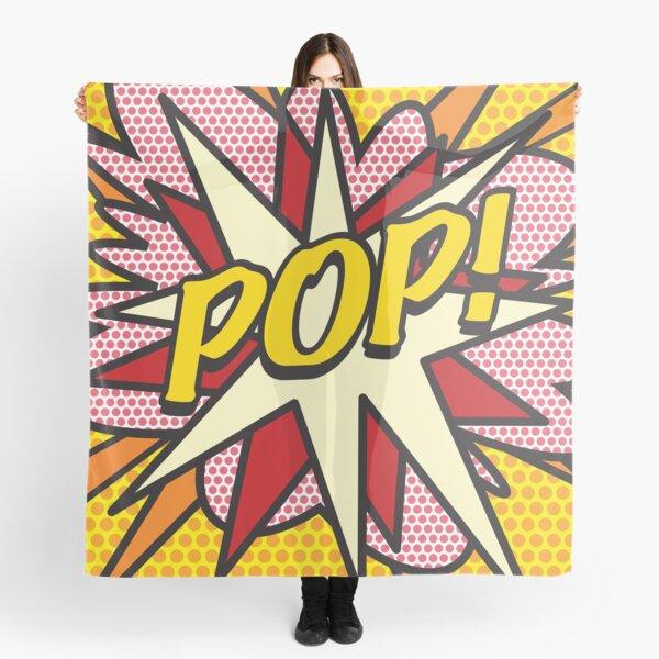 POP Comic Book Pop Art Cool Retro Trendy Scarf