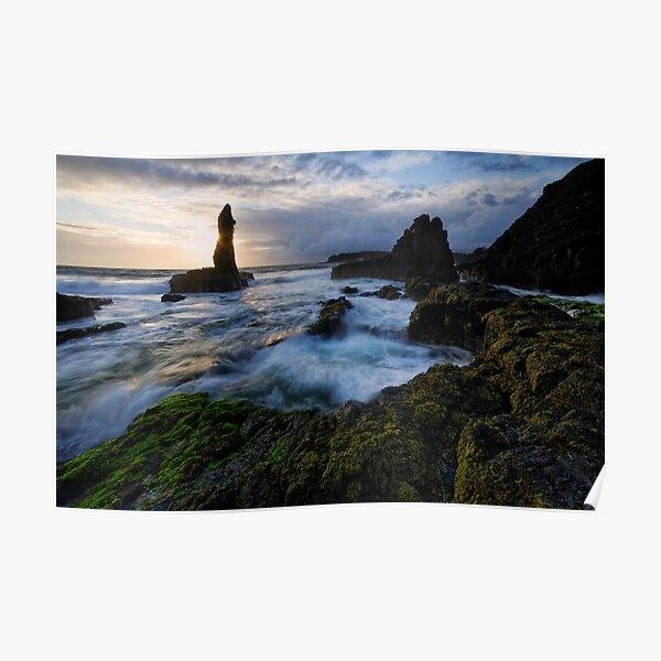 Surgy Dawn on Kiama Coast Poster