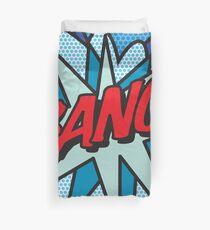 Comic Book Pop Art BANG! Duvet Cover