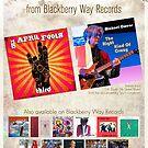 Blackberry Way Recording Artists: The April Fools & Michael Owens Poster Art by Dan Prozinski. BUY MUSIC @ http://www.blackberrywayrecords.com by BBWMERCHSTORE