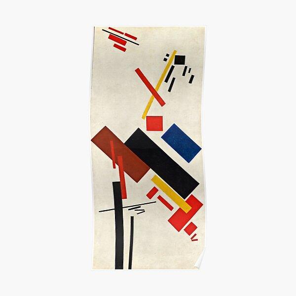 Kazimir Malevich - Stroyuschiysya Dom  Poster
