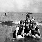 Scarborough Beach - July 1927 by Trevor Kersley