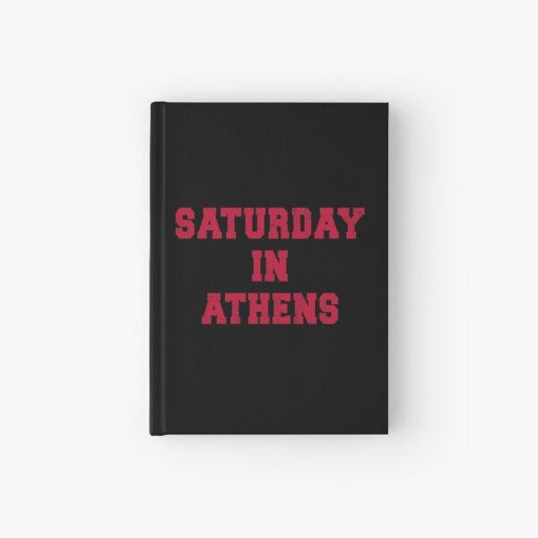 Saturday in Athens, Georgia (GA) Football Game Day Tailgate Hardcover Journal