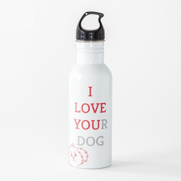 I Love You(r Dog) Water Bottle