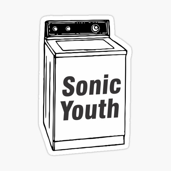Sonic Youth - Machine Sticker