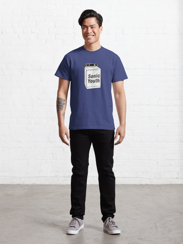 Alternate view of Sonic Youth - Machine Classic T-Shirt