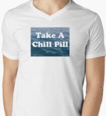 Chill Pill Men's V-Neck T-Shirt