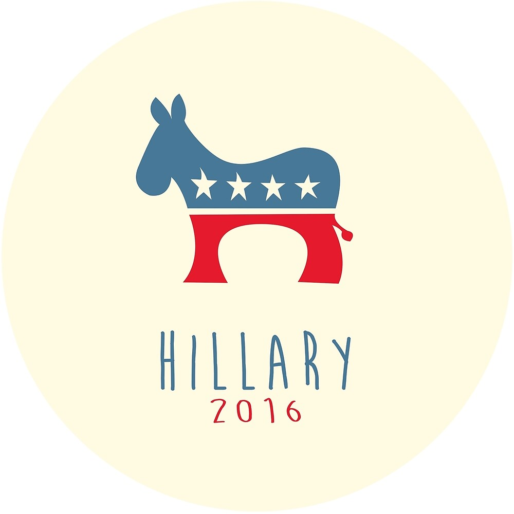 hillary clinton 2016 modern donkey