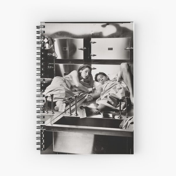 Mulder and Scully Autopsy  Spiral Notebook