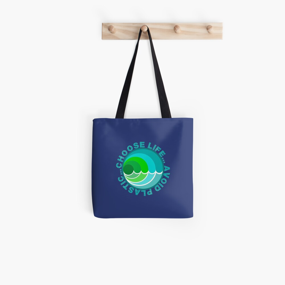 Anti Plastic // Save our Oceans // Save our planet from plastic pollution Tote Bag