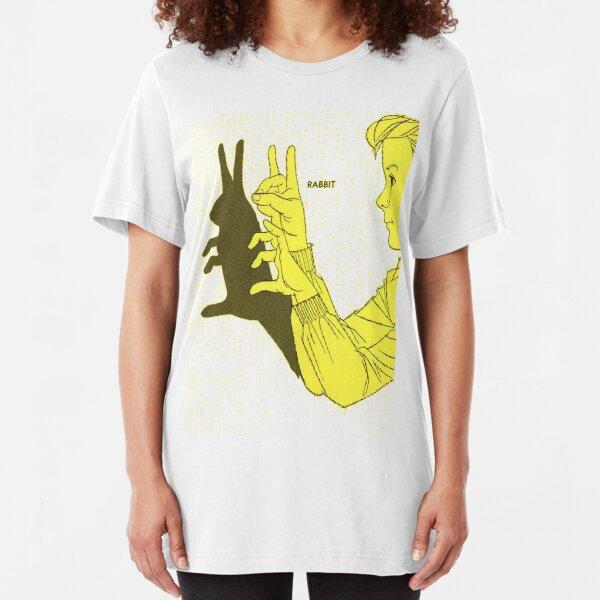Run Rabbit Run : Boy in a Blackout Slim Fit T-Shirt