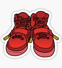 Yeezy Red October Sticker