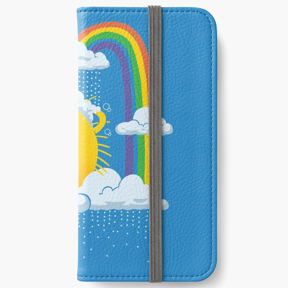 Rainy Day iPhone Wallet