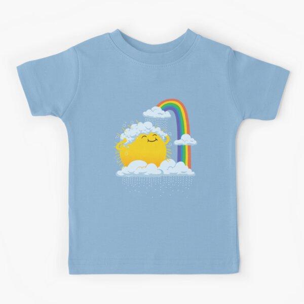 Regnerischen Tag Kinder T-Shirt
