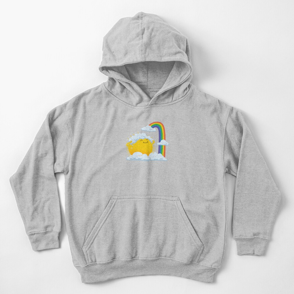 Rainy Day Kids Pullover Hoodie