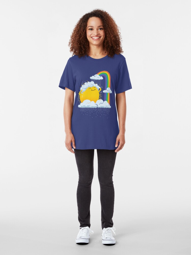 Alternate view of Rainy Day Slim Fit T-Shirt