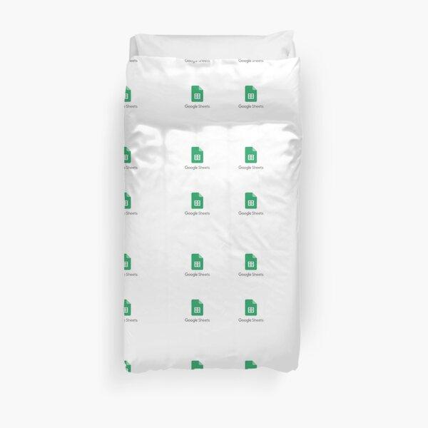 Google Sheets Bett Überzug Duvet Cover
