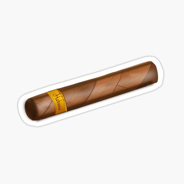 Cuban Cigar  Sticker