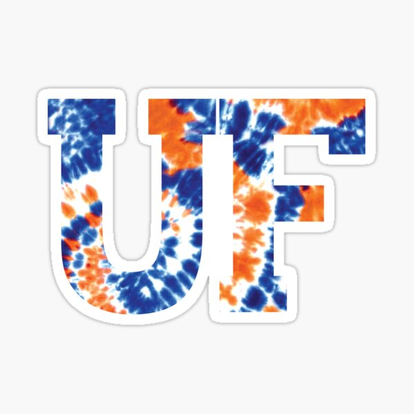 UF Tie Dye Sticker