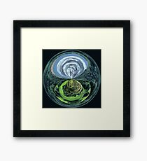Moors with a twist Framed Print