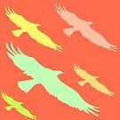Pastel Ravens by EvePenman