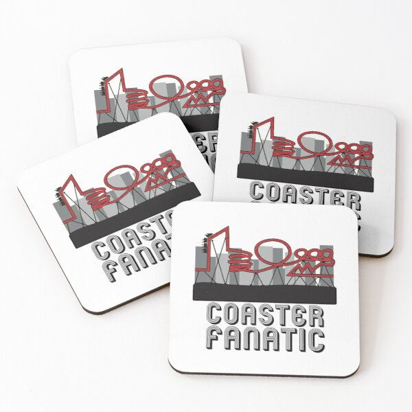 Coaster Fanatic Coasters (Set of 4)