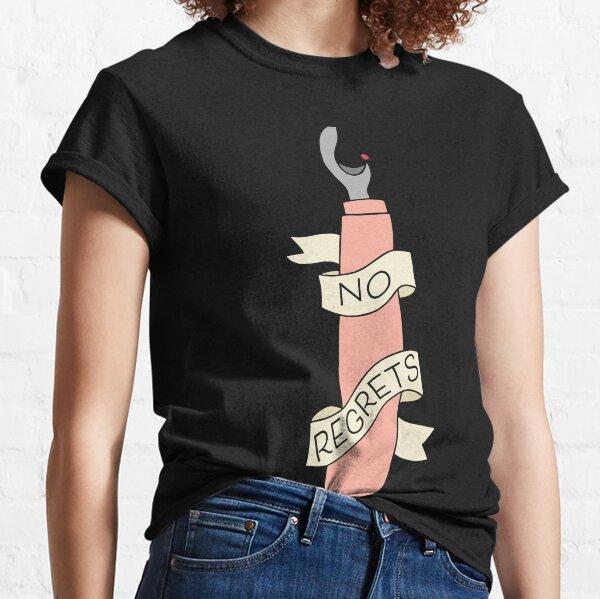 No Regrets Seam Ripper Classic T-Shirt