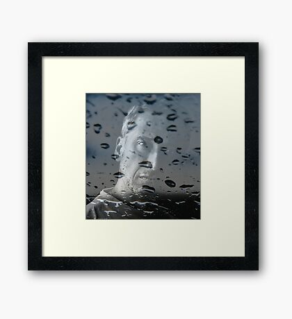 To see my life with different eyes... Framed Print
