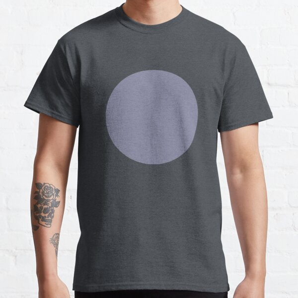 Solid Purple Circle Classic T-Shirt